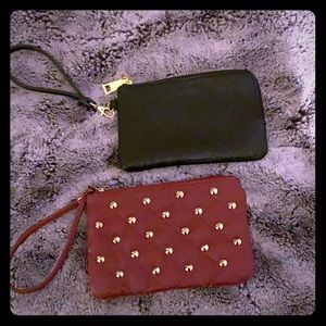 Black & Maroon wristlets  (2 for price of 1)